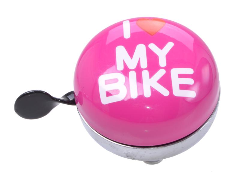 Fahrradglocke Ding Dong Maxi I Love My Bike