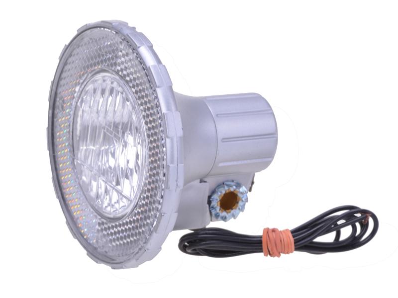 Halogenscheinwerfer silber 10 LUX