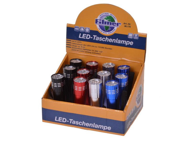 12er DP Taschenlampe COB LED