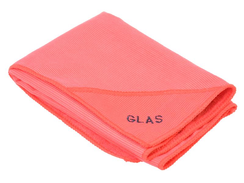 Microfasertuch Glas