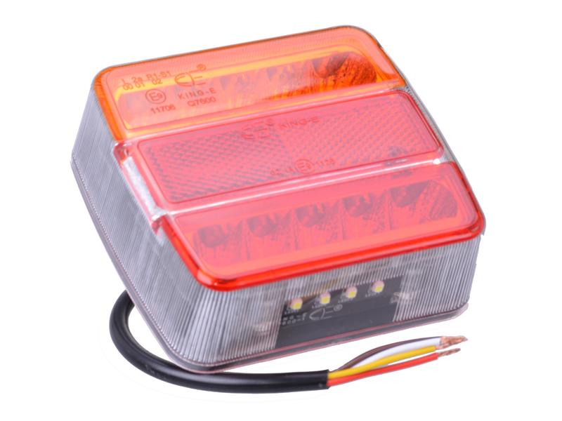 Anhängerrückleuchte mit SMD-LED 5 Funktionen