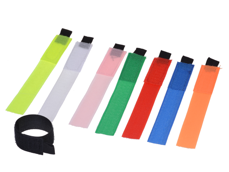 Kabel-Klettbänder-Set 8-teilig
