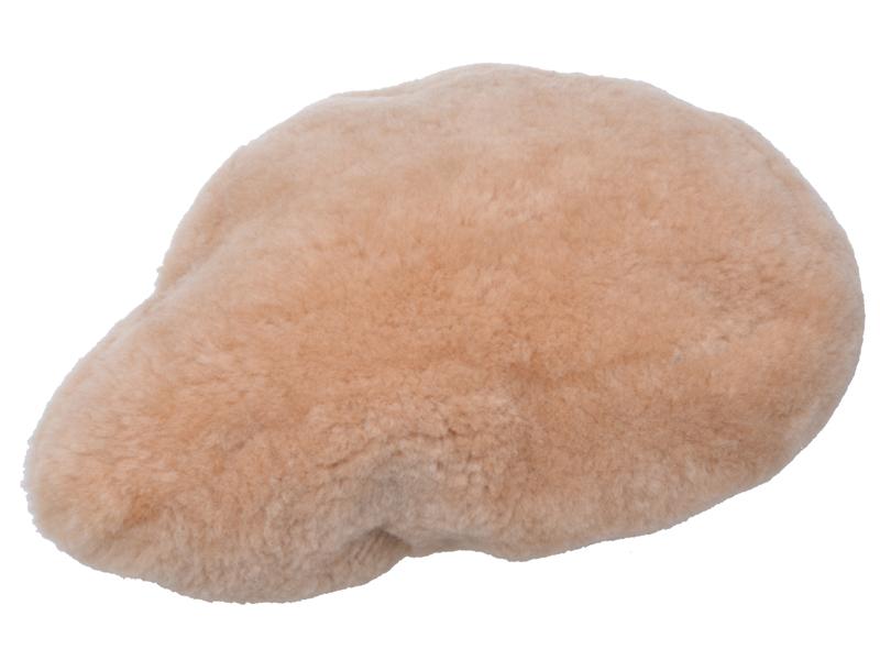 Satteldecke Lammfell natur
