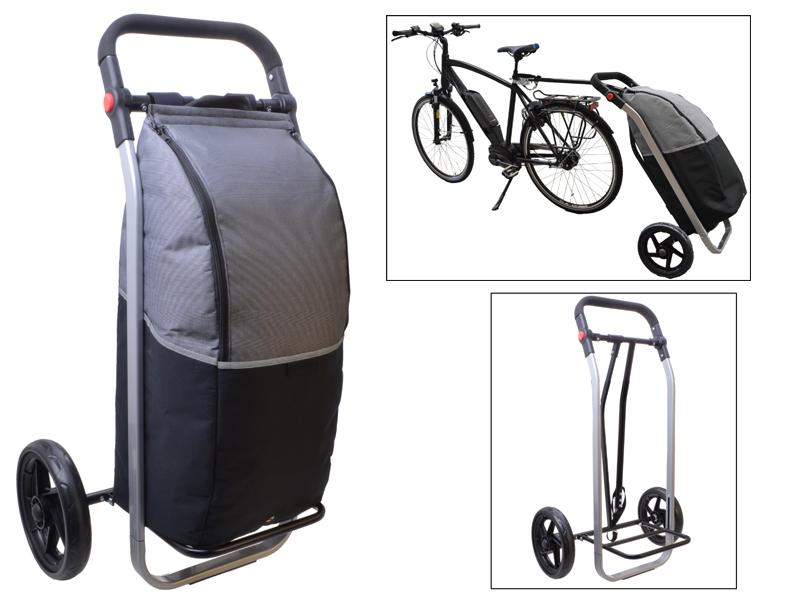 Fahrrad-Einkaufstrolley