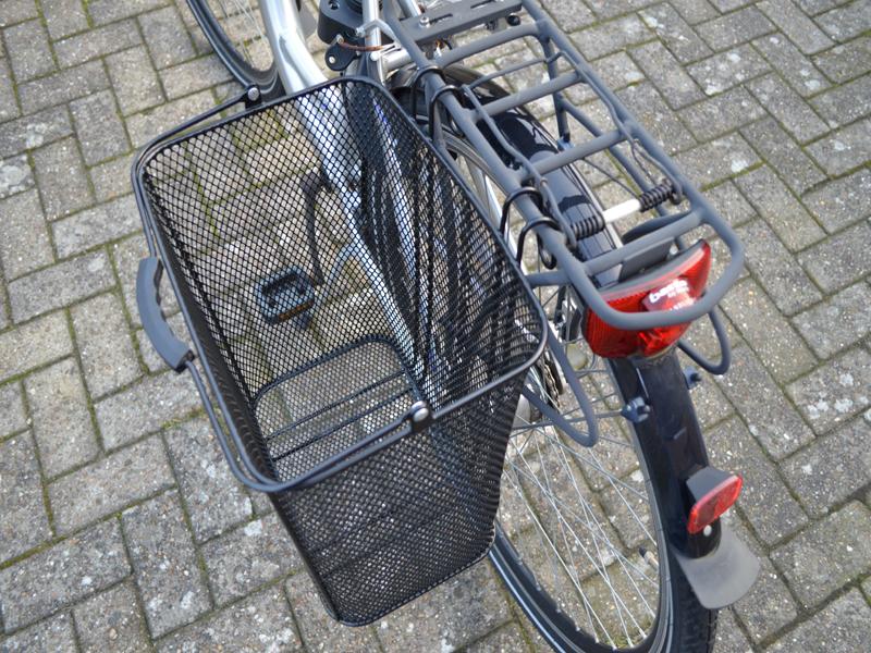 Fahrradkorb zum seitlichen Einhängen