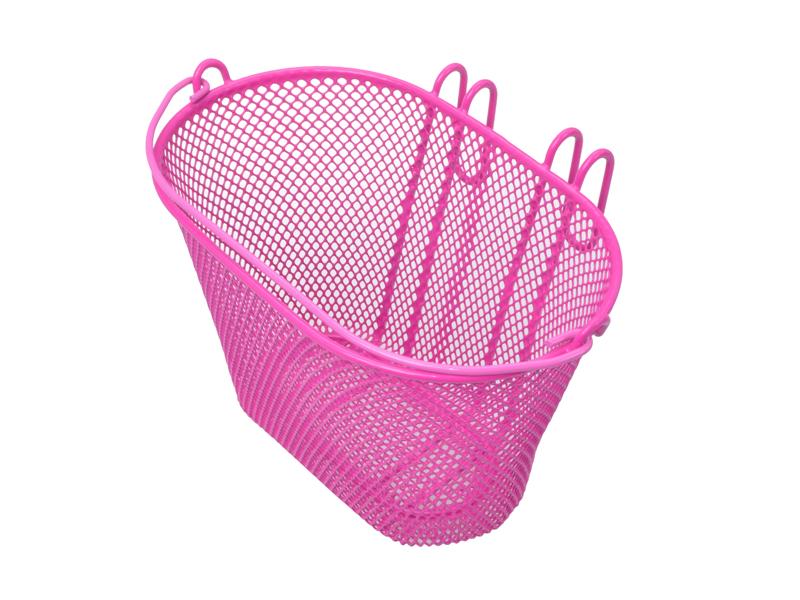 Lenkerkorb für Kinder rosa