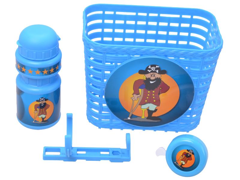 Kinder-Fahrrad-Set Boy 3tlg.