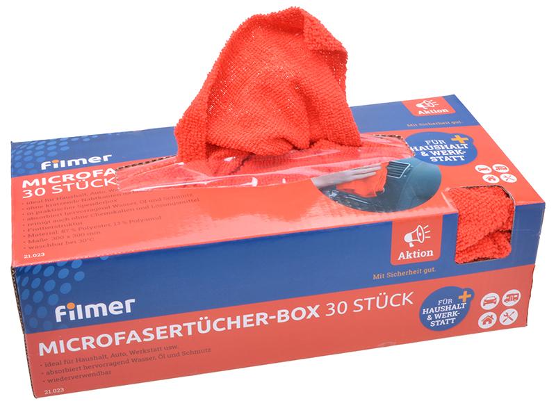 Microfasertücher-Box 30 Stück