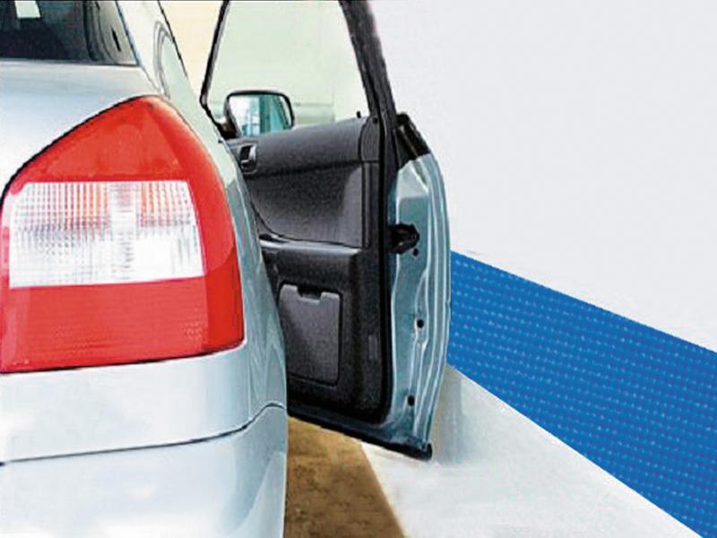 Autotür-Schutzleiste 20 x 200cm selbstklebend