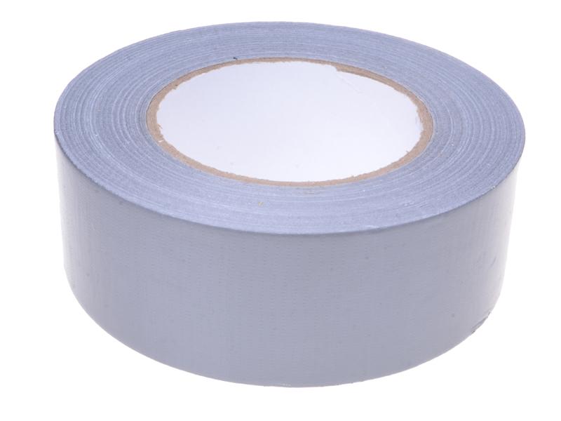Gewebe- und Reparatur-Textilklebeband silber