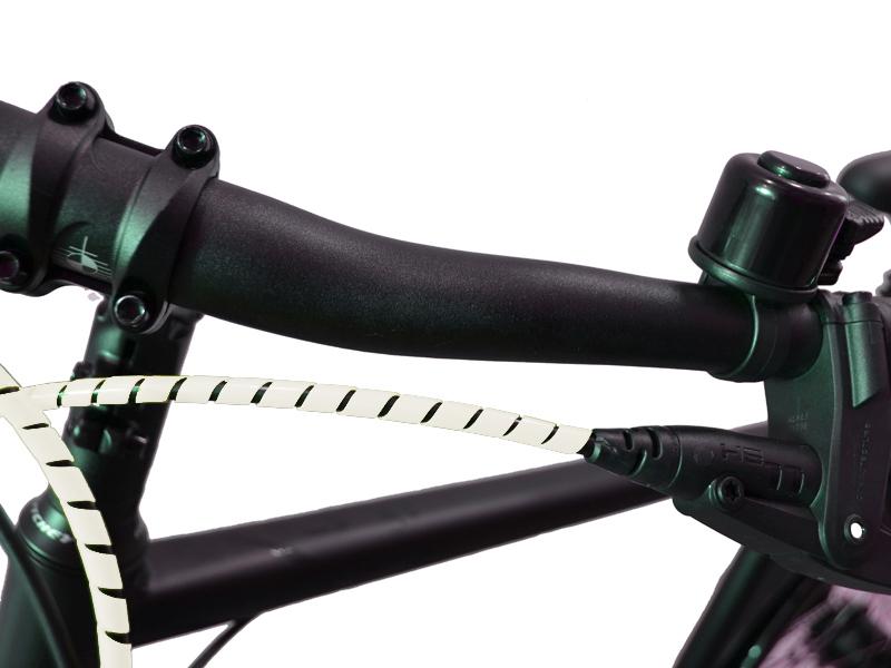 Fahrrad Spiralummantelung weis