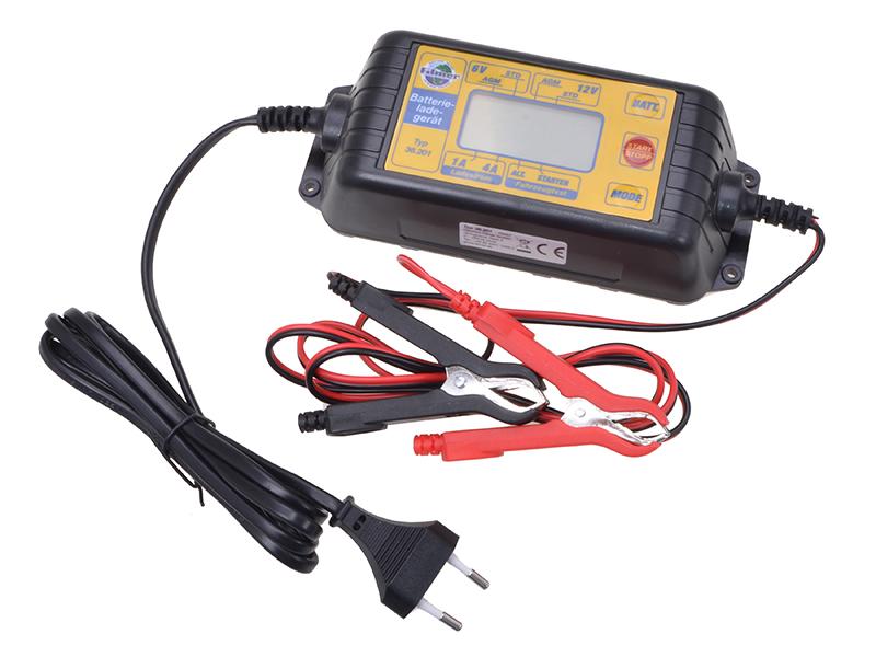 Batterieladegerät 6V/12V Microprozessor gesteuert