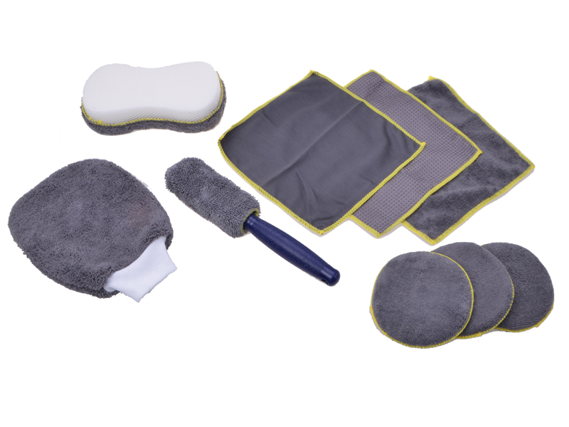 Microfaser-Reinigungsset 9tlg.