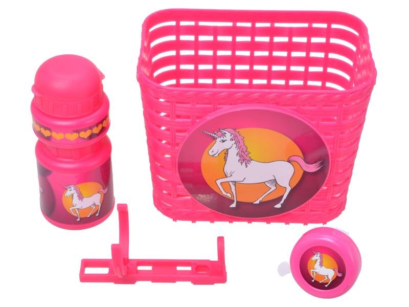 Kinder-Fahrrad-Set Girl 3tlg.