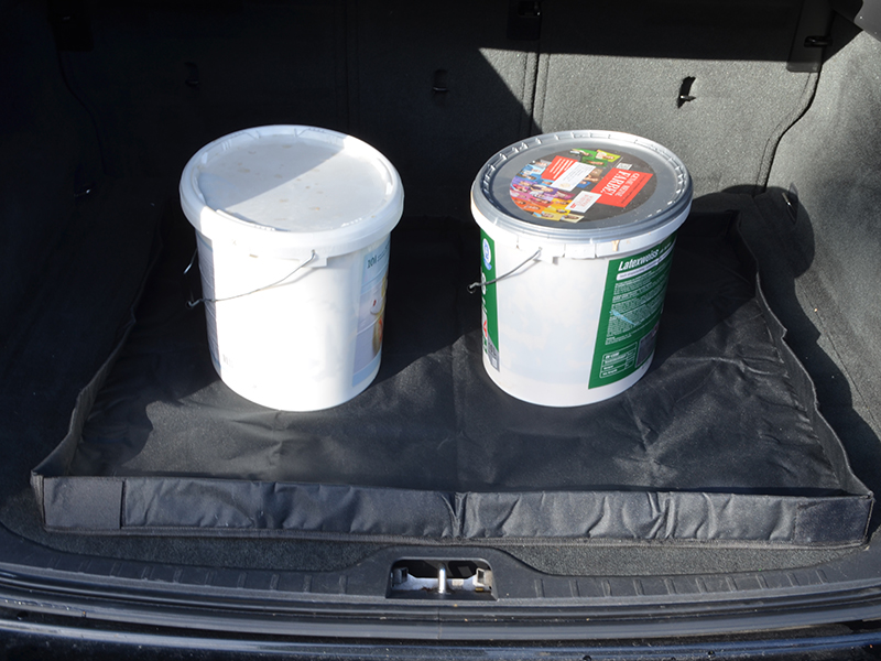 Kofferraum-Schutzdecke