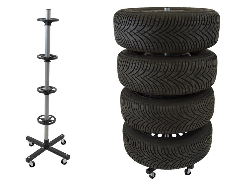 Felgen- und Reifenhalter