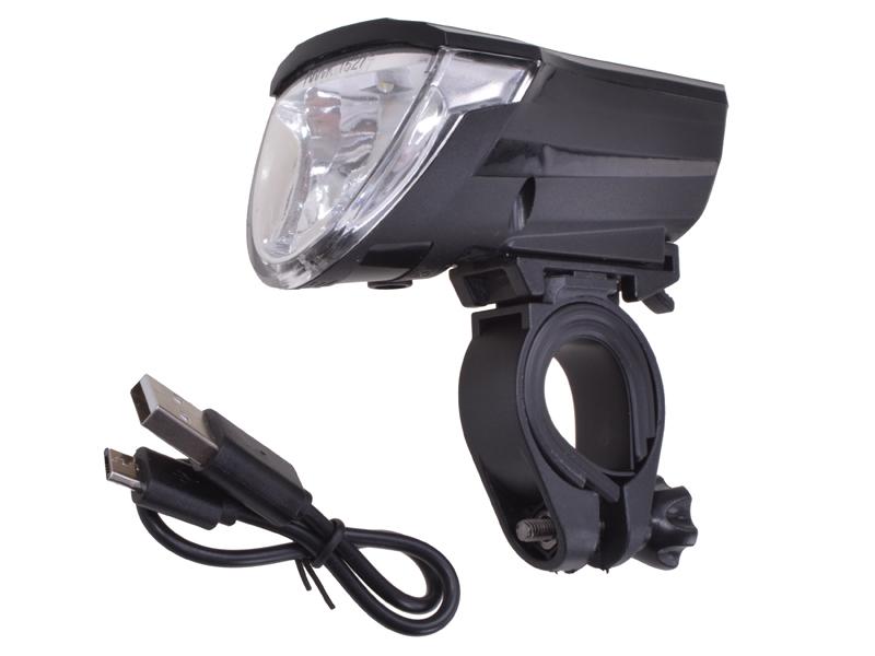 LED-Frontlicht Akku 60 LUX