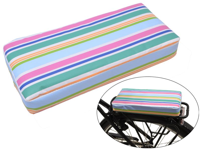 Gepäckträgerkissen Stripes