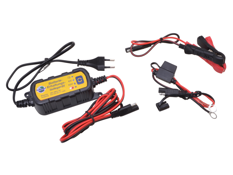 Batterie-Erhaltungs-Ladegerät 6V/12V