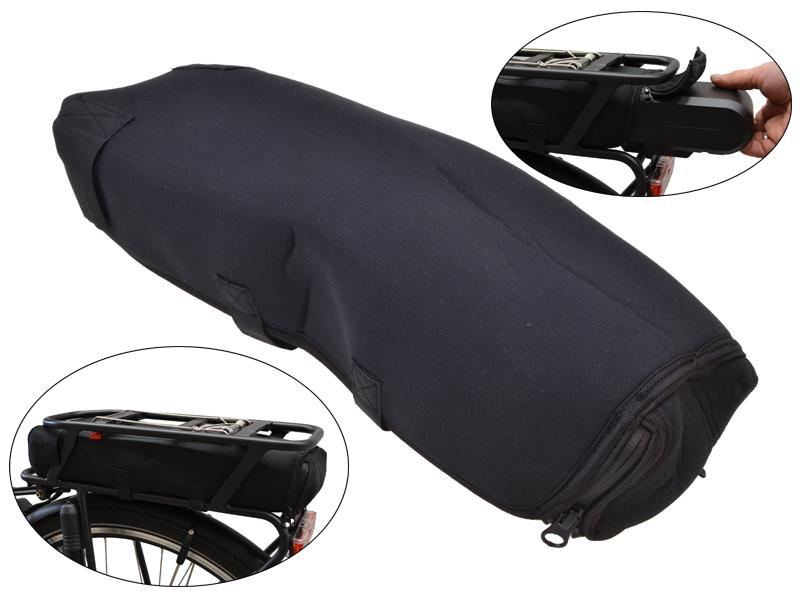 Schutzhülle Gepäckträger-Akku